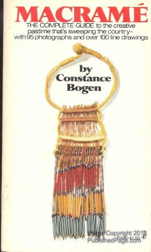9780671786960: Macrame [Paperback] by Constance e bogen