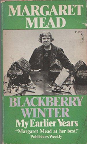 9780671787318: Blackberry Winter: My Earlier Years