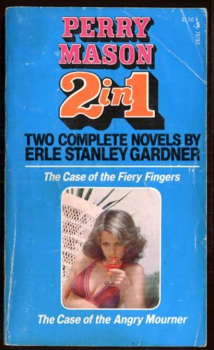 9780671787837: The Case of the Fiery Fingers/The Case of the Angry Mourner (Perry Mason 2 in 1)