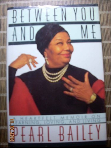 Talking to Myself (0671788299) by Pearl bailey