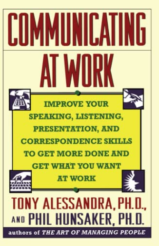 9780671788551: Communicating at Work