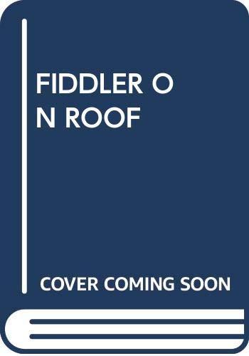 9780671789176: FIDDLER ON ROOF