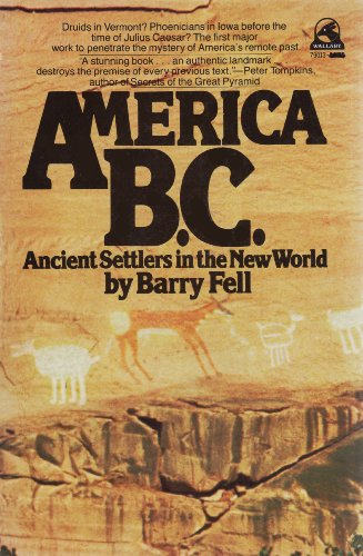 9780671790134: America B.C.: Ancient Settlers in the New World