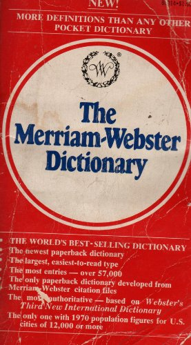 9780671790219: The Merriam-Webster Dictionary