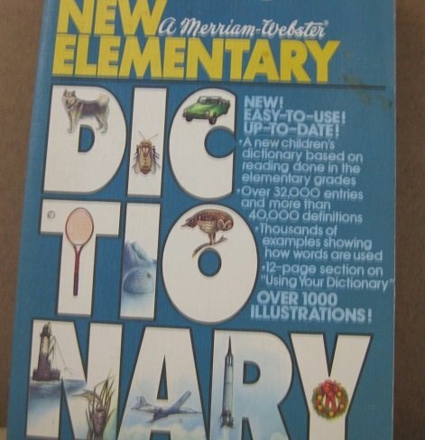 9780671790769: Webster's New Elementary Dictionary