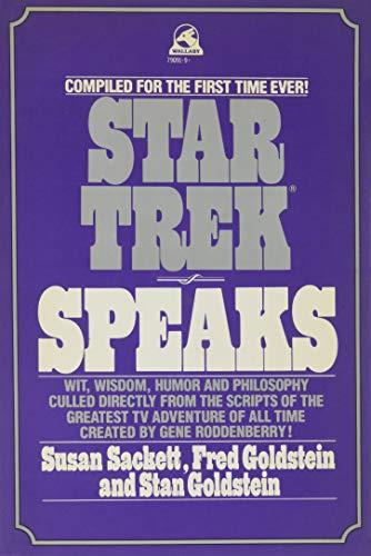 9780671790912: STAR TREK SPEAKS