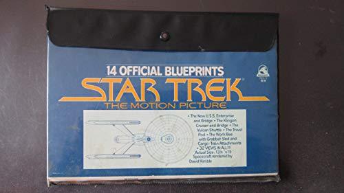 9780671791063: Star Trek The motion Picture: 14 Official Blueprints