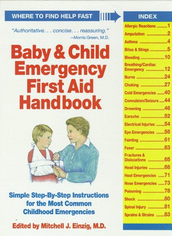 9780671792046: Baby and Child Emergency First Aid Handbook