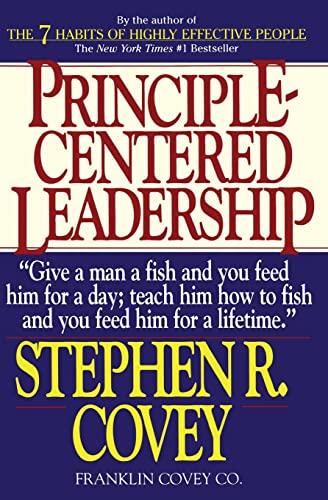 9780671792800: Principle-Centered Leadership