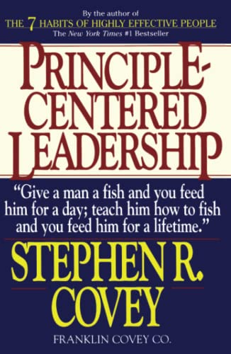 9780671792800: FranklinCovey Principle-Centered Leadership - Softcover