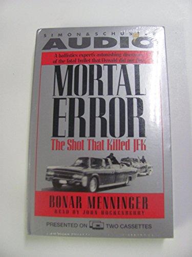 9780671793050: Mortal Error