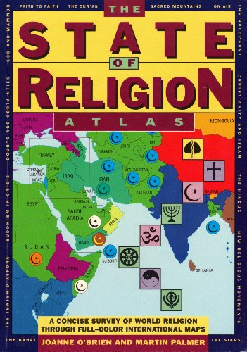9780671793760: The State of Religion Atlas