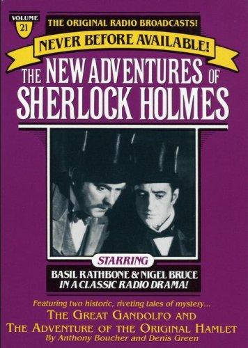NEW ADVENTURES OF SHERLOCK HOLMES VOL#21:GREAT GANDOLFO & ORIGINAL HAMLET (The New Adventure of Sherlock Holmes, Vol. 21) (0671794124) by Anthony Boucher