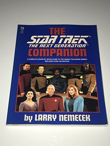 9780671794606: The Star Trek, The Next Generation Companion