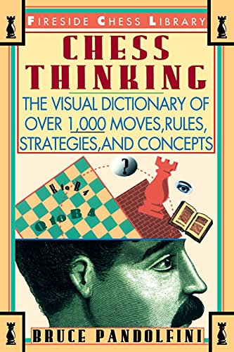 9780671795023: Chess Thinking: The Visual Dictionary of Chess Moves, Rules, Strategies and Concepts (Fireside Chess Library)