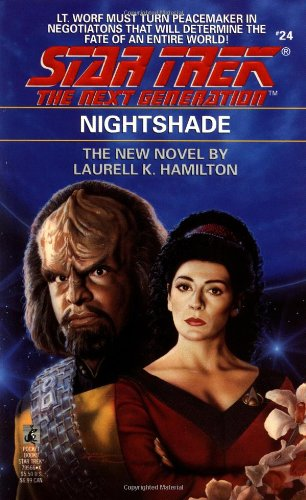 9780671795665: Nightshade (Star Trek The Next Generation, No 24)
