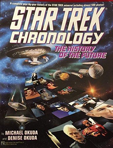 9780671796112: Star Trek Chronology: The History of the Future