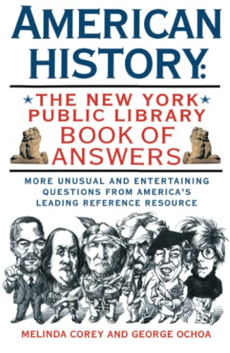 9780671796341: American History: The New York Public Library Book of Answers