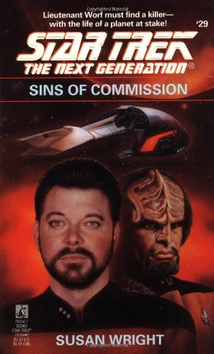 Sins of Commission (Star Trek The Next Generation, No 29)