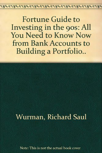 9780671797249: Fortune Guide to Investing in the 90s