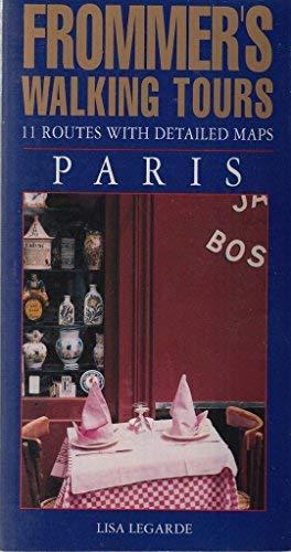 9780671797645: Frommer's Walking Tours: Paris