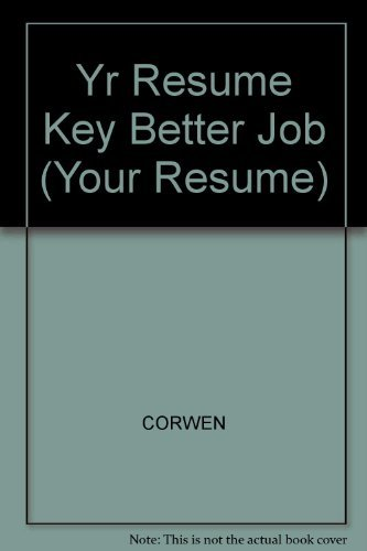 9780671799755: Your Resume: Key to a Better Job