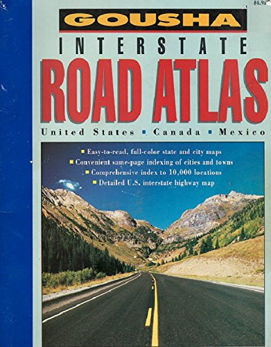 9780671799847: Gousha Maps: Us Interstate Road Atlas