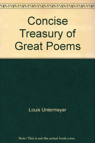 9780671800635: Treasury of Great Poems