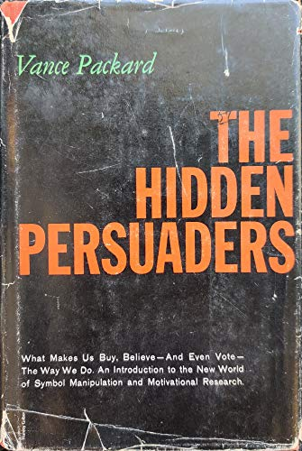 9780671801717: The Hidden Persuaders [Gebundene Ausgabe] by Vance, Packard