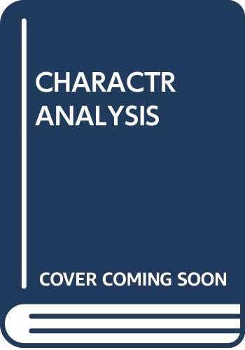 9780671802592: Character Analysis