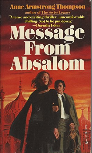 9780671803018: Message From Absalom
