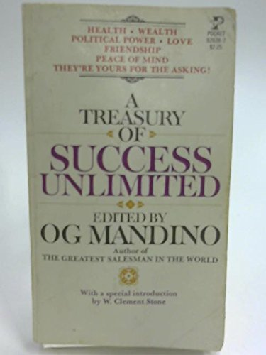 9780671803025: A Treasury of Success Unlimited