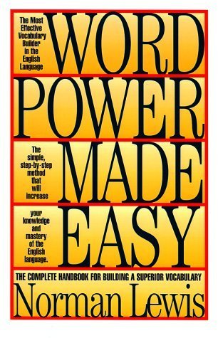 9780671804077: Word Power Made Easy