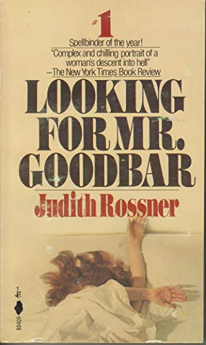 9780671804091: Title: Looking for Mr Goodbar Pocket Book edition publish