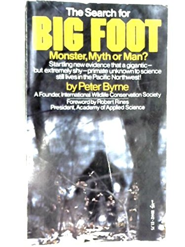 9780671804428: The Search for Bigfoot (Monster, Myth or Man?)