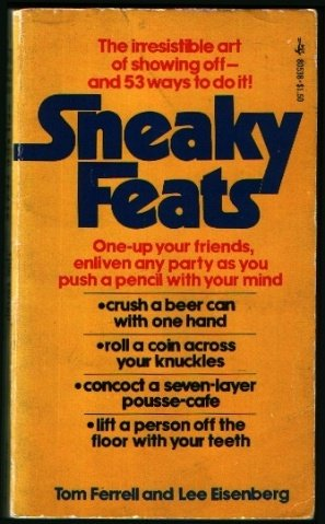 9780671805388: SNEAKY FEATS