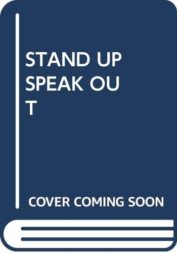 9780671806415: Stand Up Speak Out, Talk Back!