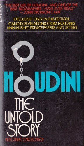 9780671807306: Houdini: The Untold Story