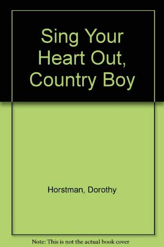 9780671807320: Sing Your Heart Out, Country Boy