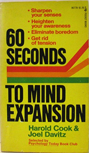 9780671807788: 60 Seconds to Mind Expansion