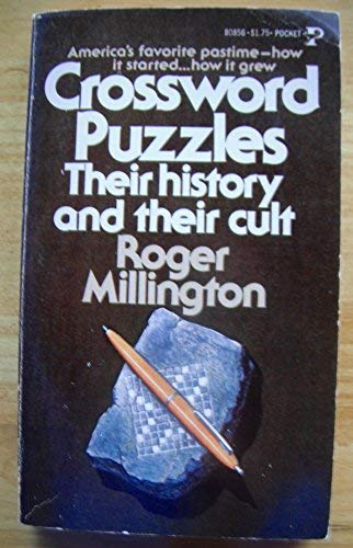 9780671808563: Crossword Puzzles: Their History and Their Cult