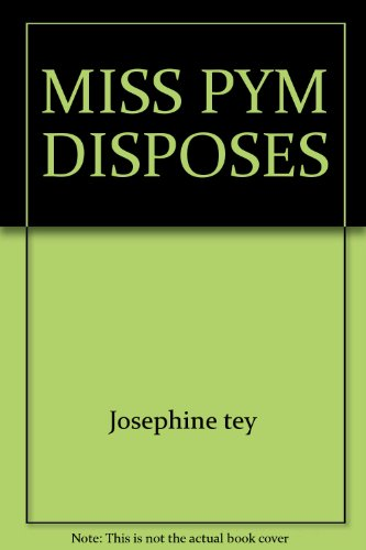 9780671809072: MISS PYM DISPOSES