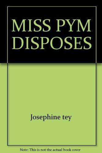 9780671809072: Miss Pym Disposes