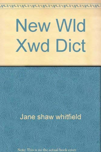 9780671810993: New Wld Xwd Dict