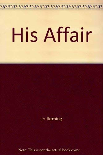 9780671812232: His Affair