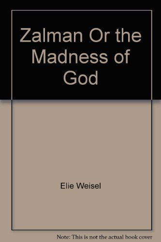 9780671812546: Zalman, or the Madness of God