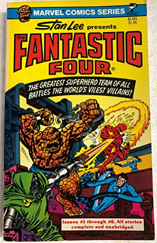 Marvel Comics Series: Stan Lee Presents The Fantastic Four (Issues #1-6) (9780671814458) by Stan Lee