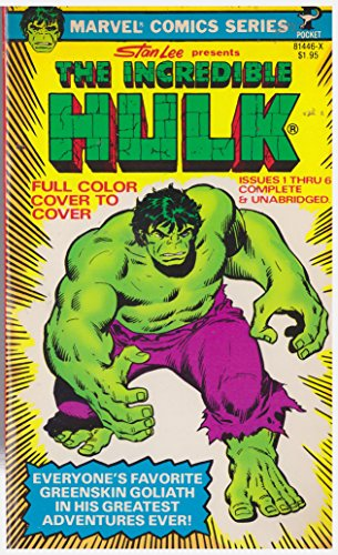 9780671814465: The Incredible Hulk, Issues 1-6