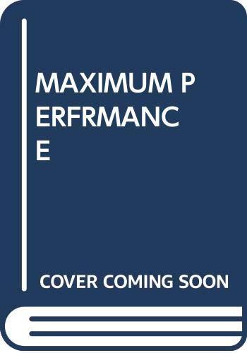 9780671816056: Maximum Performance