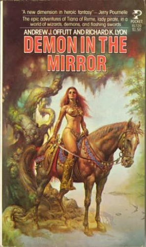 9780671817206: The Demon in the Mirror (War of the Wizards Trilogy, Book 1)